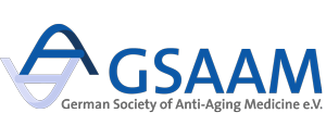 Logo GSAAM, German Society of Anti-Aging-Medicine e.V.